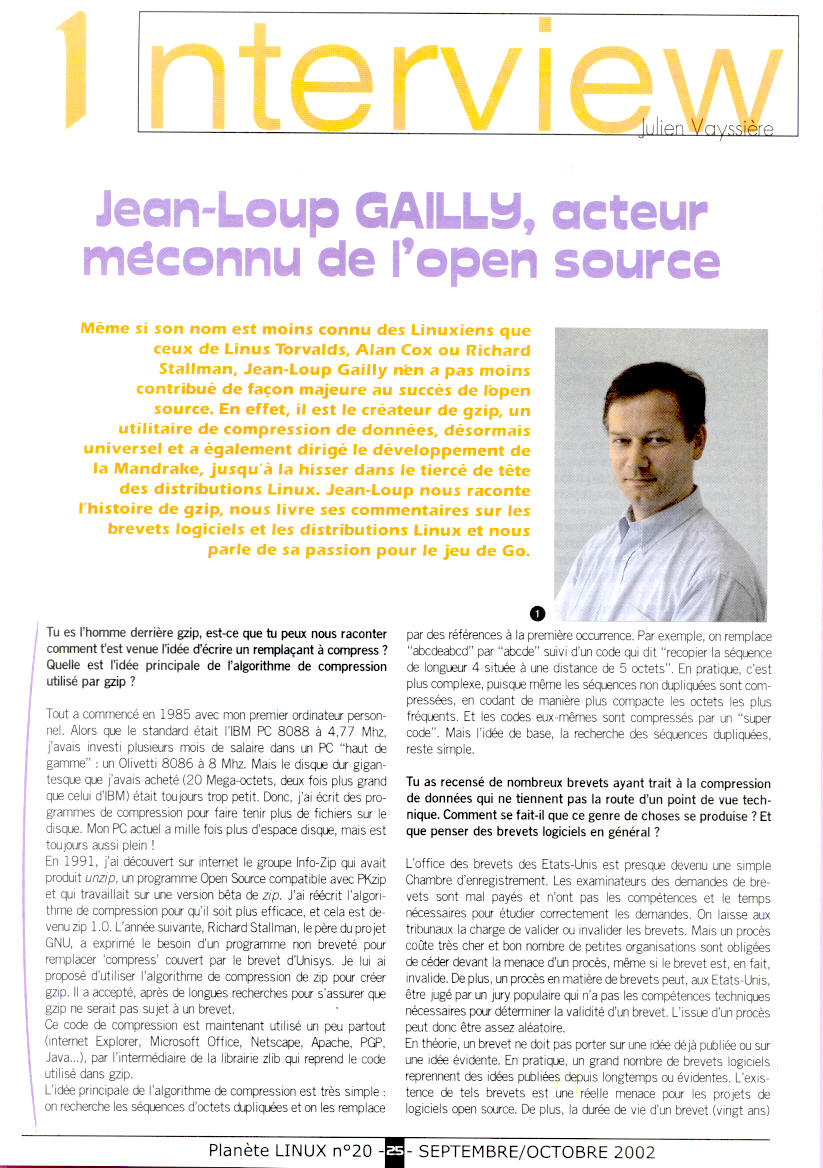 exemple de interview